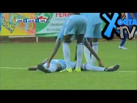 DAAWO CAYAARTA FINALKA XULALKA SOMALIA VS TANZANIA OO DHAMEYSTIRAN.