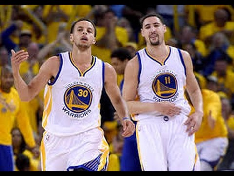 Stephen Curry and Klay Thompson Splansh Brothers 斯蒂芬·库里 和 克莱