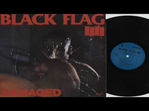 Black Flag - Damaged (Full Album)