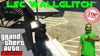 GTA 5 Online 2x Wallglitch LSC Los Santos Customs 1.28 PS4 Wall Glitch