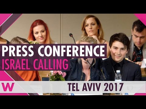Israel Calling 2017 | Press Conference on Eurovision