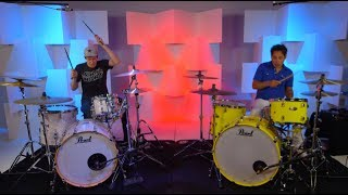 Download Video Attention - Drum Cover - DOUBLE DRUMMER COVER ft. Nick D'Virgilio MP3 3GP MP4