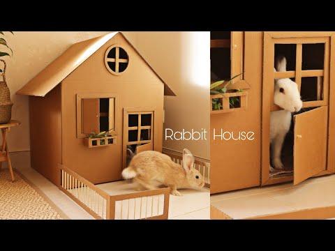 Rabbit cardboard house mitsubishi jet towel slim