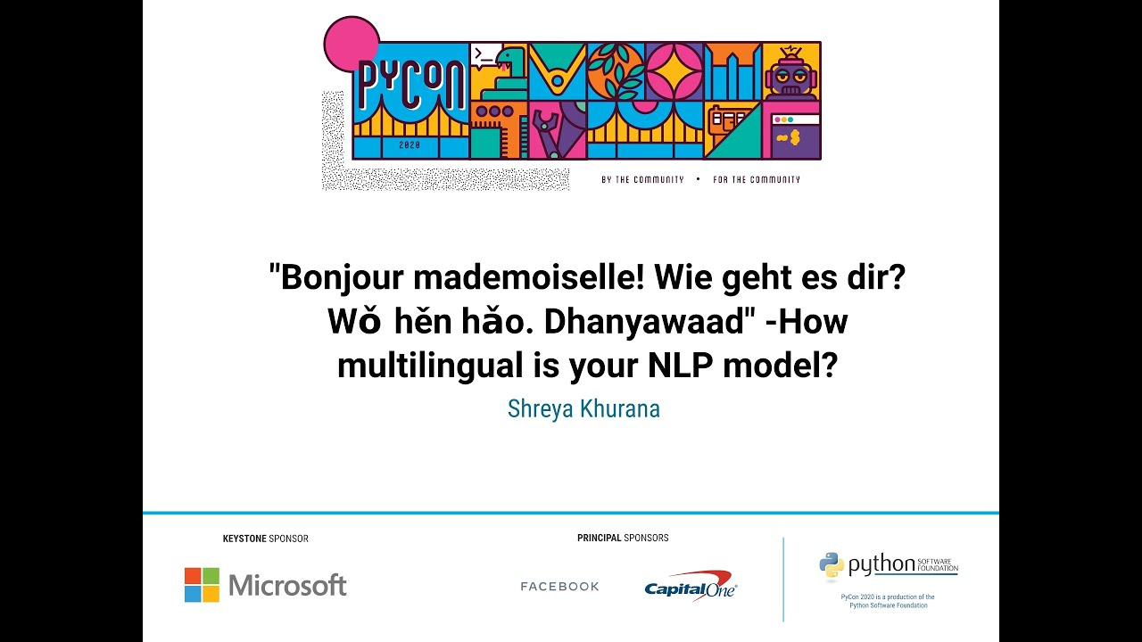 Image from How multilingual is your NLP model?