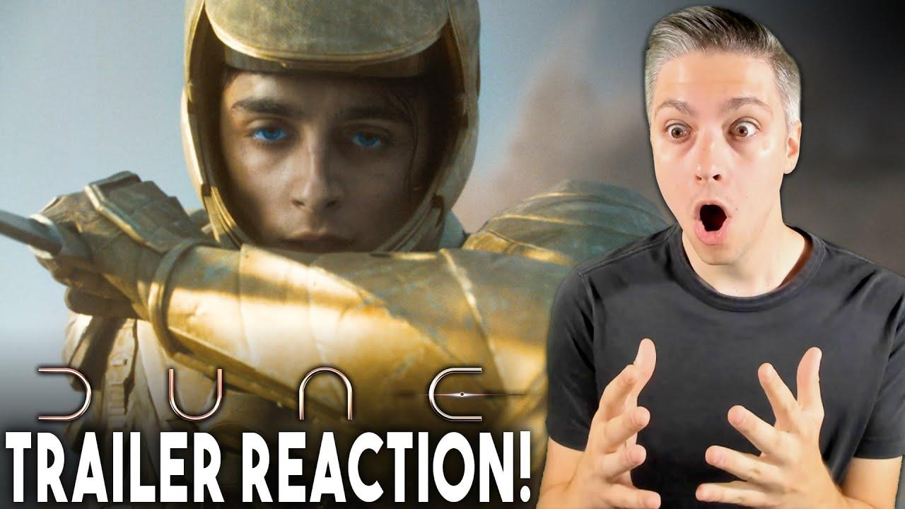 Dune Official Main Trailer Reaction!