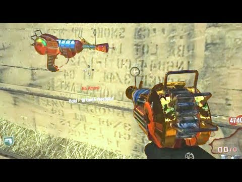 """""""GOLDEN RAY GUN, OMG!"""" Zombies Moments #85 Call of Duty Black Ops 3 2 1 Gameplay"""