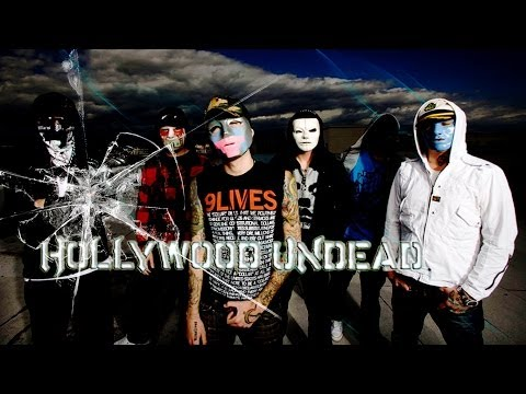Hollywood Undead - Bottle And A Gun [Lyrics Video]