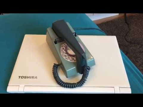 1971 R78 GPO 722 Trimphone: Two Tone Blue