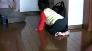 脳性まひ児の運動改善(転がり~ずりばい~はいはい)
