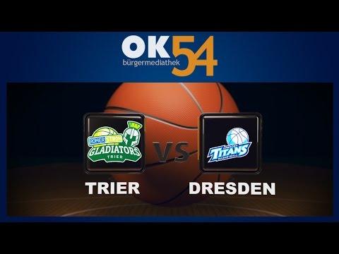54sport - Basketball: Gladiators Trier vs. Dresden Titans