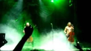 Apocalyptica Bogota 2012 - Hall of The Mountain King