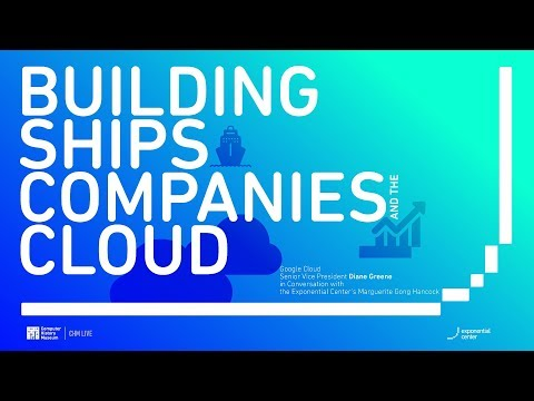 CHM Live | Building Ships, Companies, and the Cloud