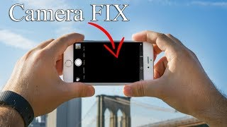 How to Fix iPhone 6/6s/7/8 Black Camera Issue | Camera Not Working Solved