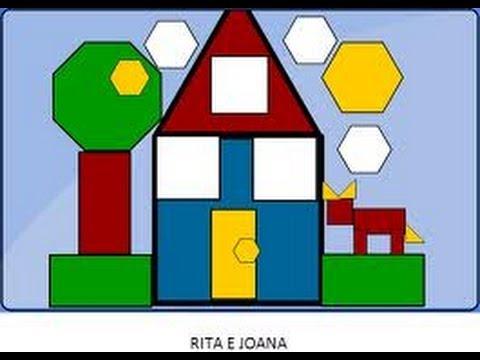 Reas de figuras planas tri ngulos parte 2 l gica for Las formas geometricas