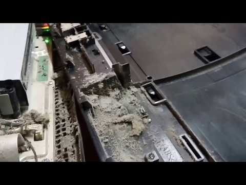 How to clean a PS3 (Playstation 3). A very dirty situation!