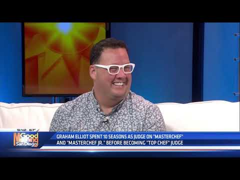 Graham Elliot visits Good Morning San Diego