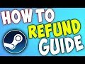 Steam Tutorial: How To Refund Games (2018)