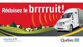 Utilisation adéquate du frein moteur - Sensibilisation au bruit routier