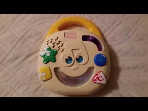 Playskool Twirlin' Tunes CD Player Musical Toy