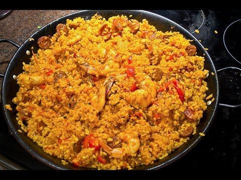[recette]-riz-aux-poulet-et-poivrons,-façons-paella,avec-chorizzo