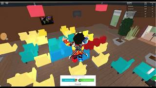 CHAIRS INVASION!? ROBLOX Restaurant Tycoon #6