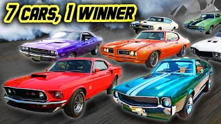 Crowning the BEST MUSCLE CAR EVER! | Muscle Car Shootout