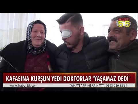 KAHRAMAN GAZİ SAMSUN'A DÖNDÜ