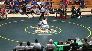2020 Southern CIF.  Jesse Vasquez vS Luka Wick. 145lbs.