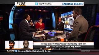 Floyd is Ducking Pacquiao: First Take Reflects on Pacquiao Interview
