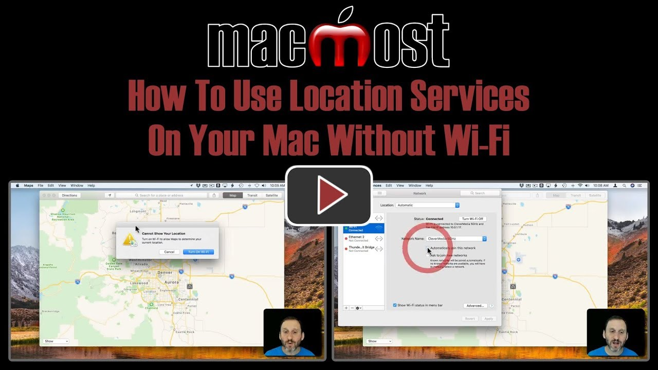 How To Use Location Services On Your Mac Without Wi-Fi (#1719)