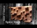 MACHS EINFACH: Gewürzregal   DIY Spice Rack