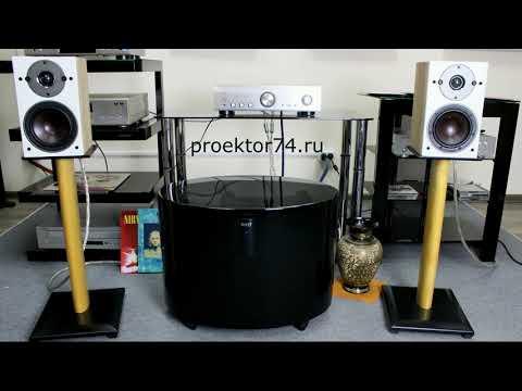 DALI Oberon 1 Light Oak & Denon PMA-800NE Silver прослушивание отличного стерео комплекта
