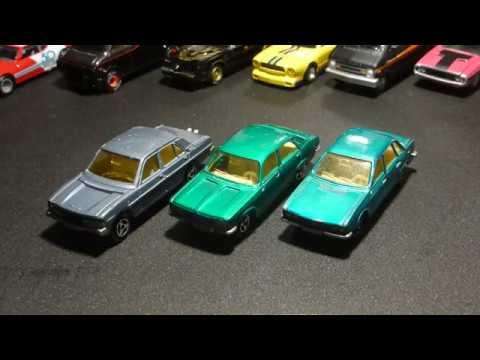 Majorette Peugeot 604 & Chrysler 180 & VW K70