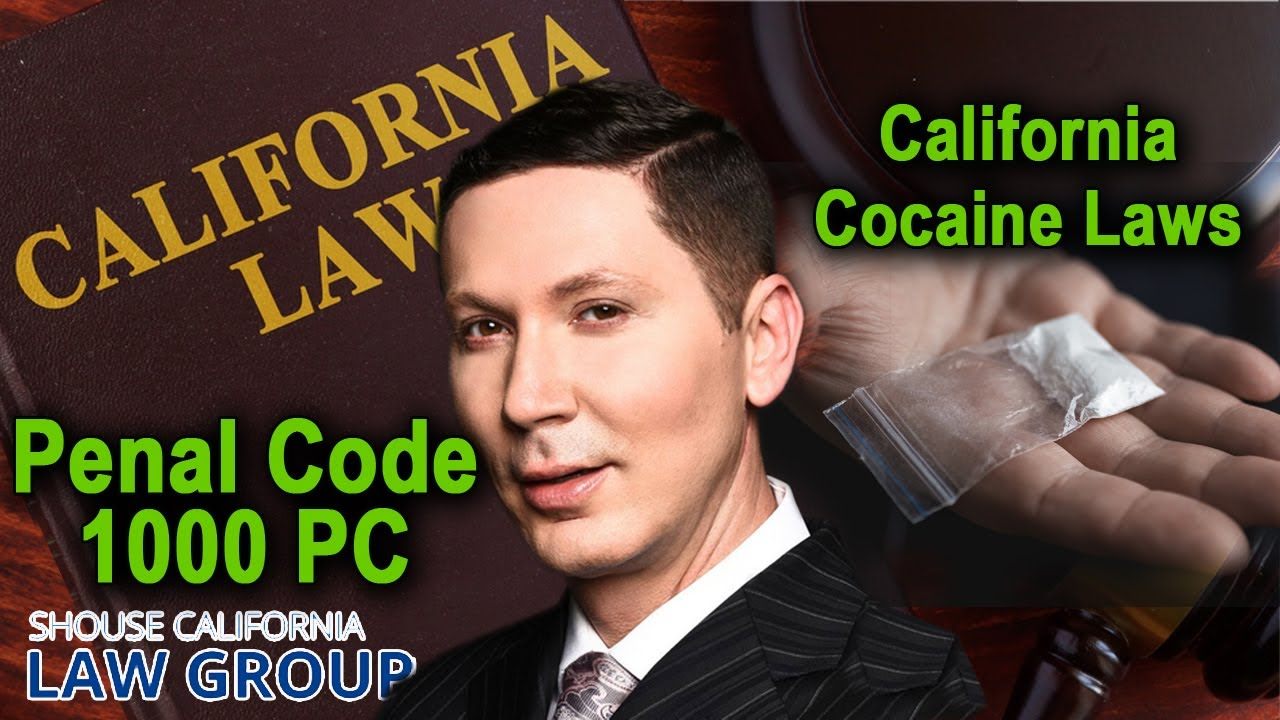 Busted for 'Cocaine'? Here are the laws in California
