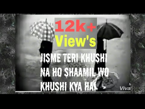 Teri Kushi Na Ho Shamil To Fir Khushi Kya Hai