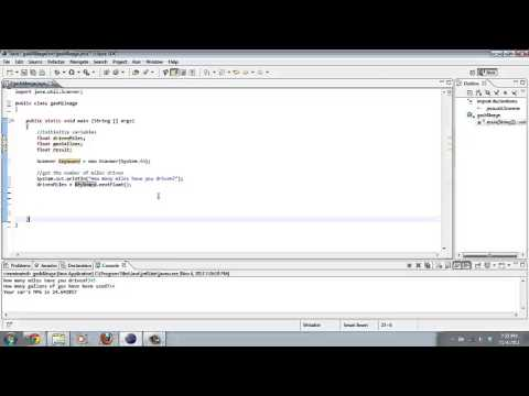 using java to figure out mpgmp4
