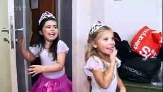 sophia grace and rosie are in the building the x factor video   sophia grace
