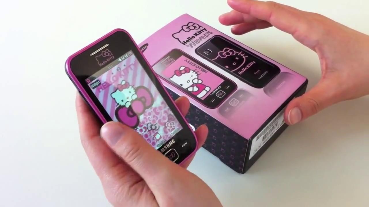 7565739b24376 Samsung Hello Kitty Phone - YouTube