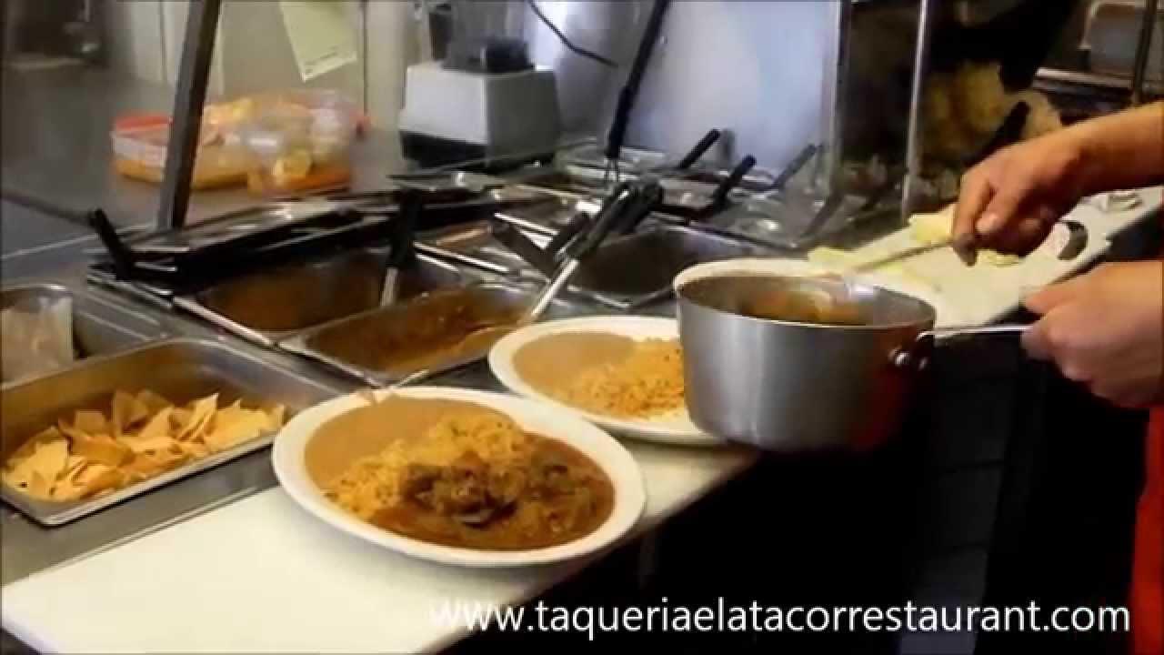 Restaurante Mexicano Taqueria El Atacor En Baldwing Park