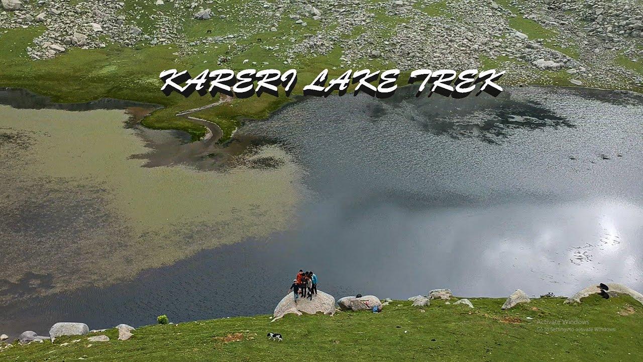 Kareri lake ke liye kiya 26 km ka trek