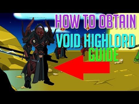 =AQW= How To Get Void Highlord! (Complete Guide) 2018