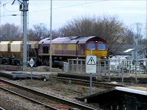 Freight movements at Ely