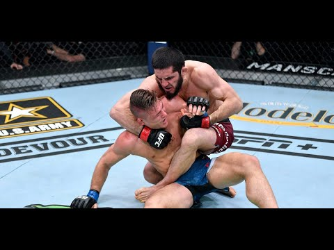 Dominant Dagestan fighter Islam Makhachev records arm triangle ...