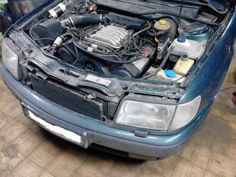Audi C4  - проставки, вакуумные трубки, зажигание и по мелочам