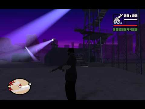 Black Project (Airstrip Mission #4) - GTA San Andreas - How to get rid of the Jetpack