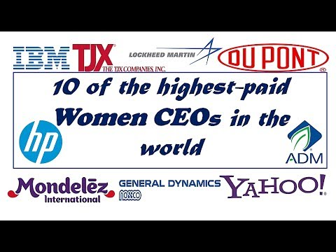 The Top 10 highest-paid female CEOs In The World 2017 || Media Zone