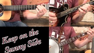 Keep on the Sunny Side- Banjo Solo Lesson!