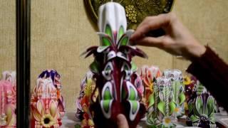 резные свечи Юлии Крук