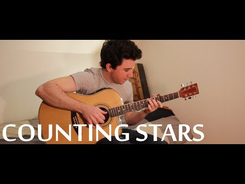 OneRepublic / Pitbull - Counting Stars / Timber (fingerstyle guitar cover by Peter Gergely) [TABS]