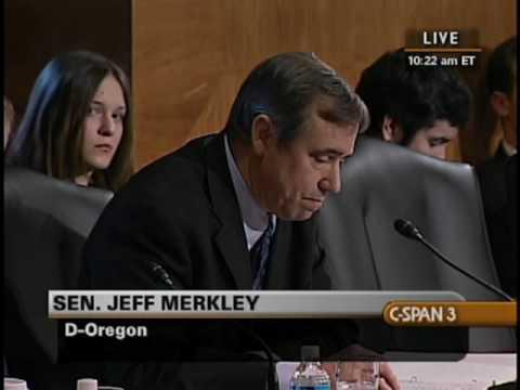 Sen. Jeff Merkley (D-OR) Votes Against Ben Bernanke
